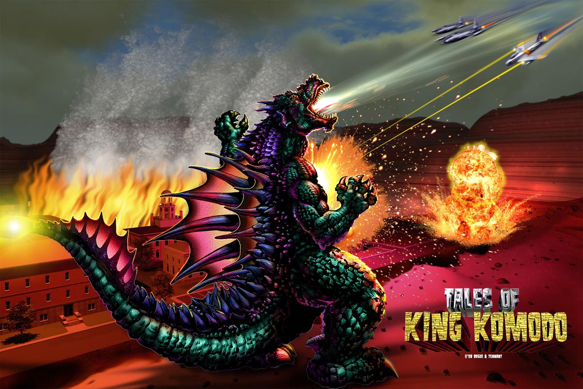 Godzilla Screensaver 1200x800