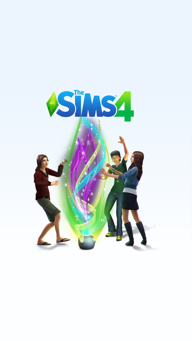 Free Download The Sims 4 Mobile Wallpaper 3269 640x1136
