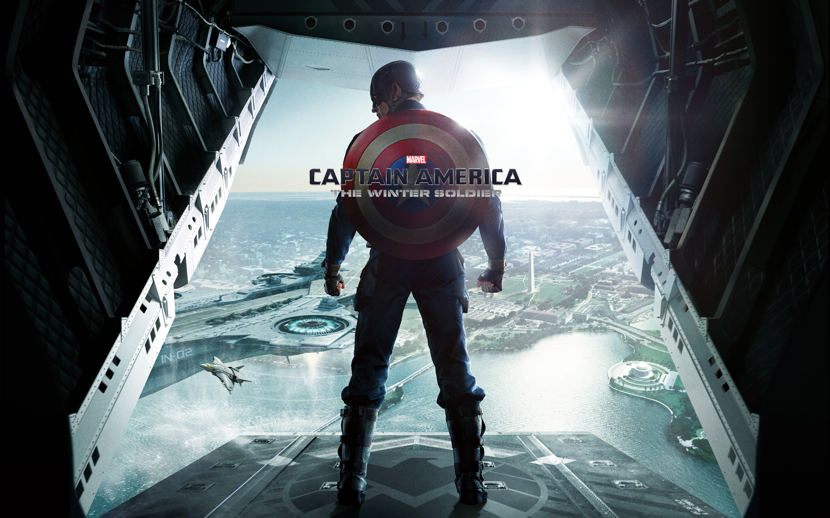 Captain America The Winter Soldier Wallpapers HD Wallpapers 2880x1800