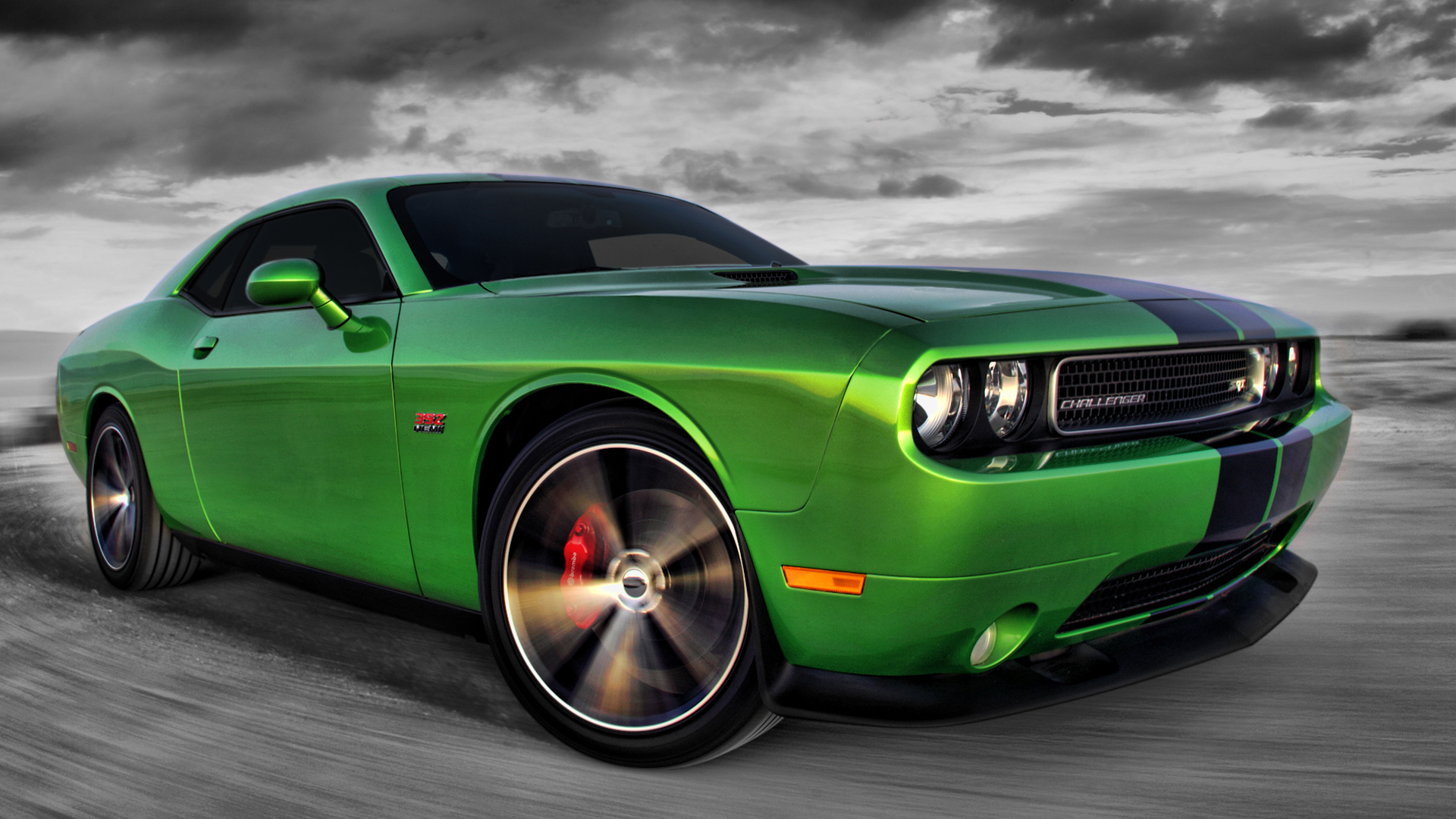 2011 Dodge Challenger SRT8 Wallpaper 1920x1080