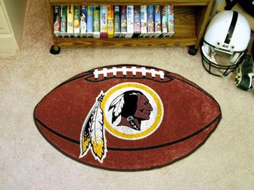 Washington Redskins Football Rug NFL Shaped Accent Floor Mat 500x375
