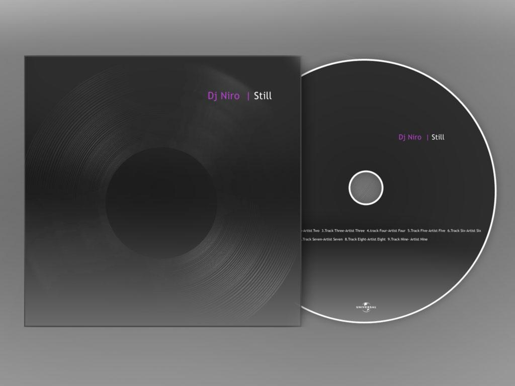 how to make a cd album cover