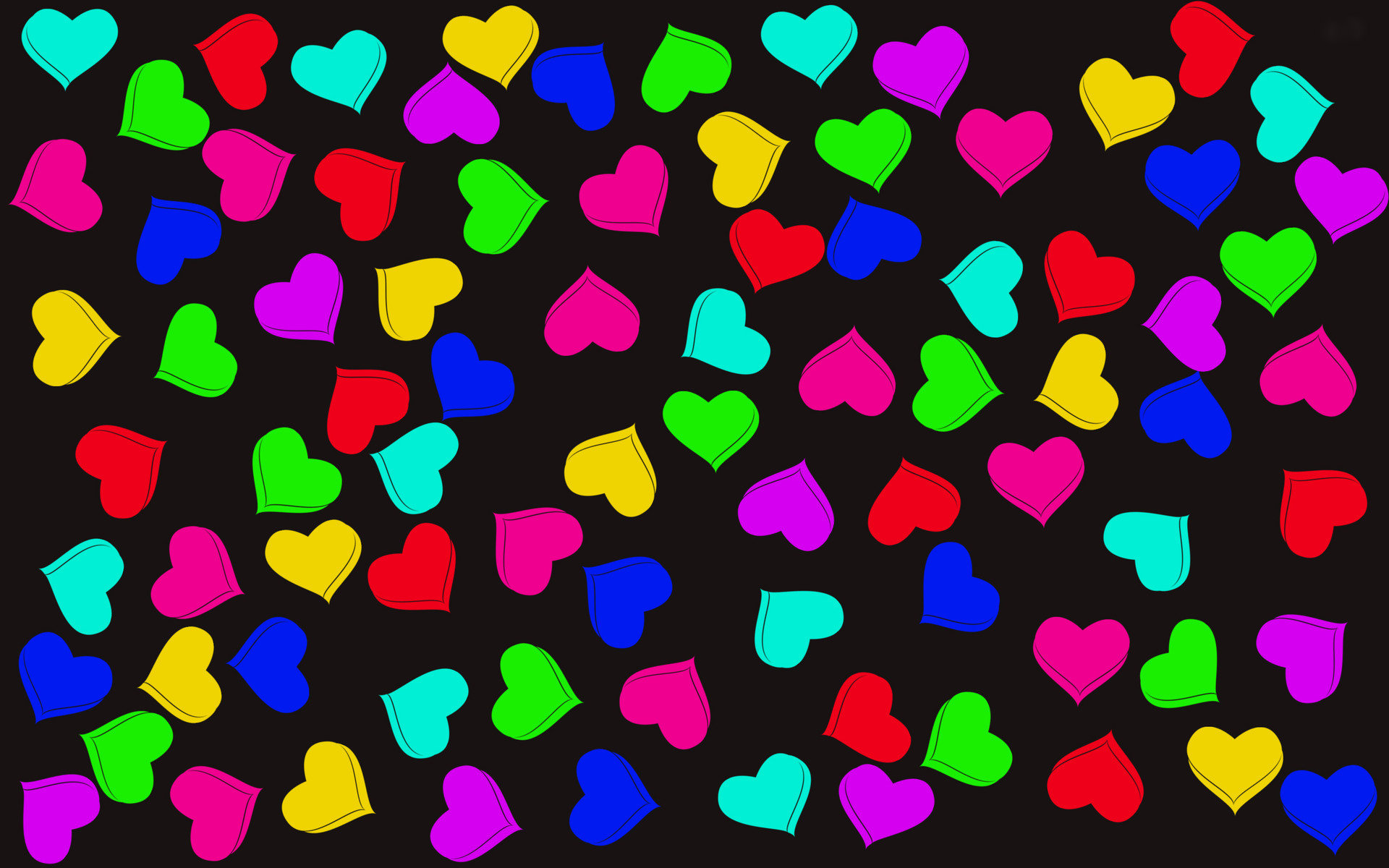 colorful cartoon Love Wallpaper : colorful 3d Wallpaper - WallpaperSafari