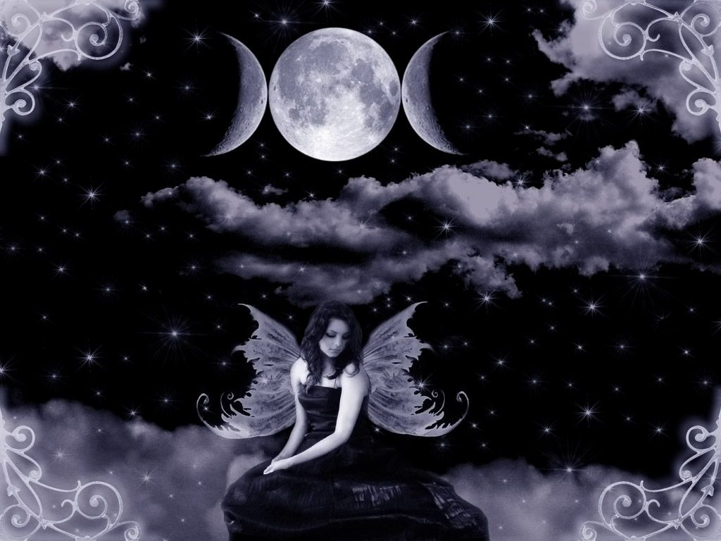 Moon Fairy Wallpaper Hd 4 Desktop Wallpaper 1024x768