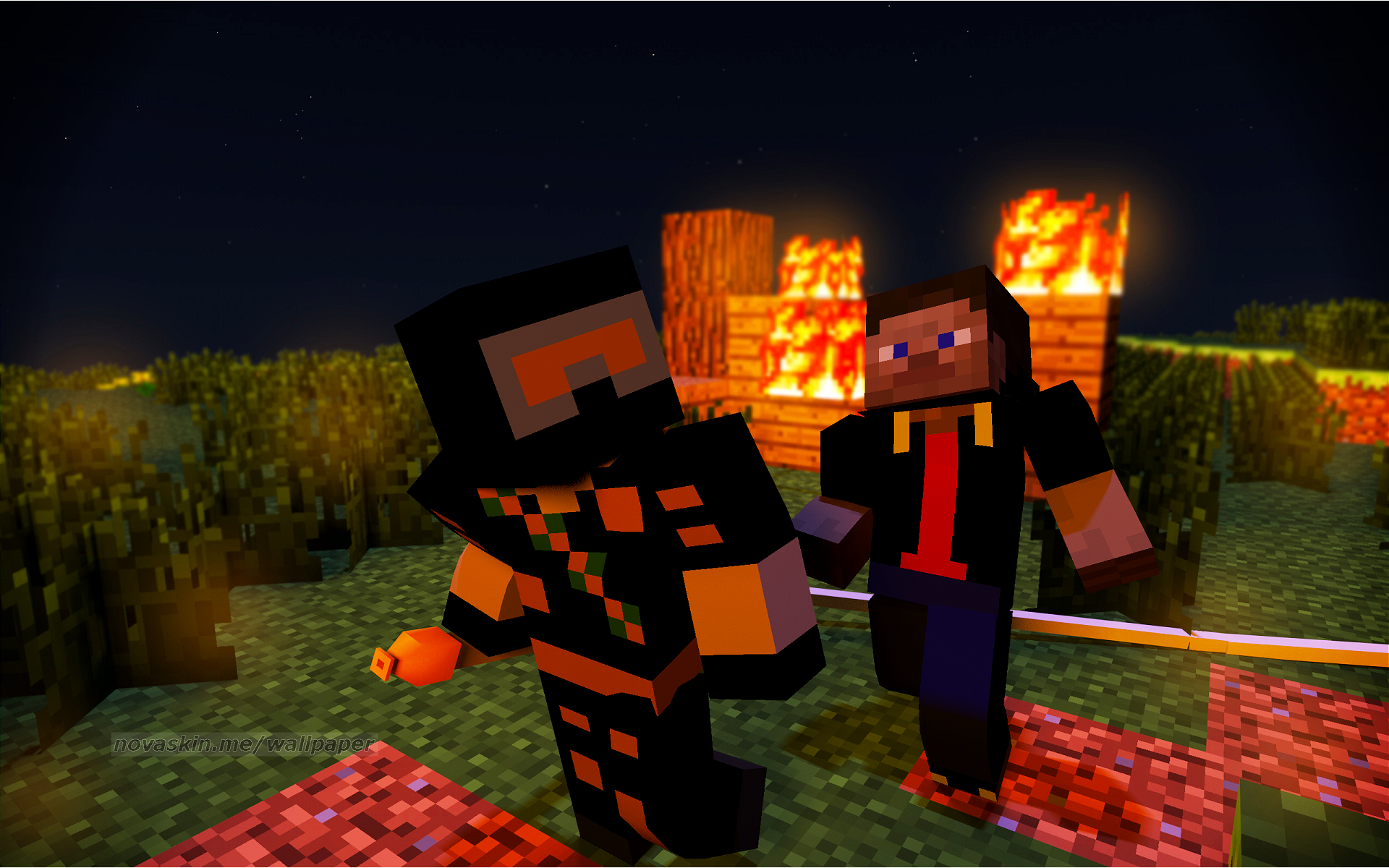 got a whole collection of Minecraft Wallpapers Tell me your Minecraft 1920x1200