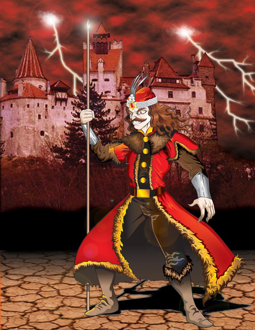 Vlad the Impaler by Gorgoncult 850x1100