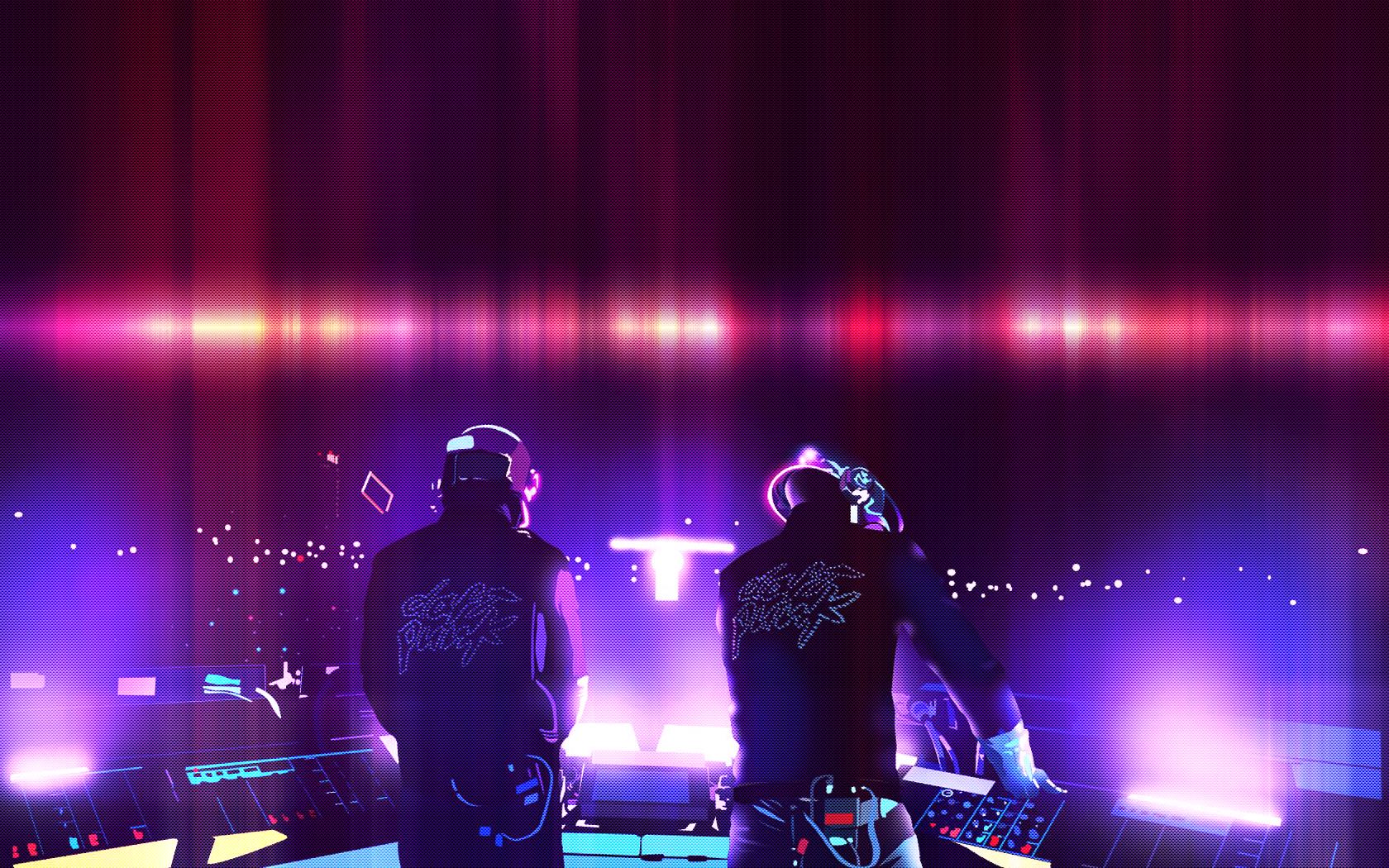 49+ Daft Punk Dual Monitor Wallpaper on WallpaperSafari