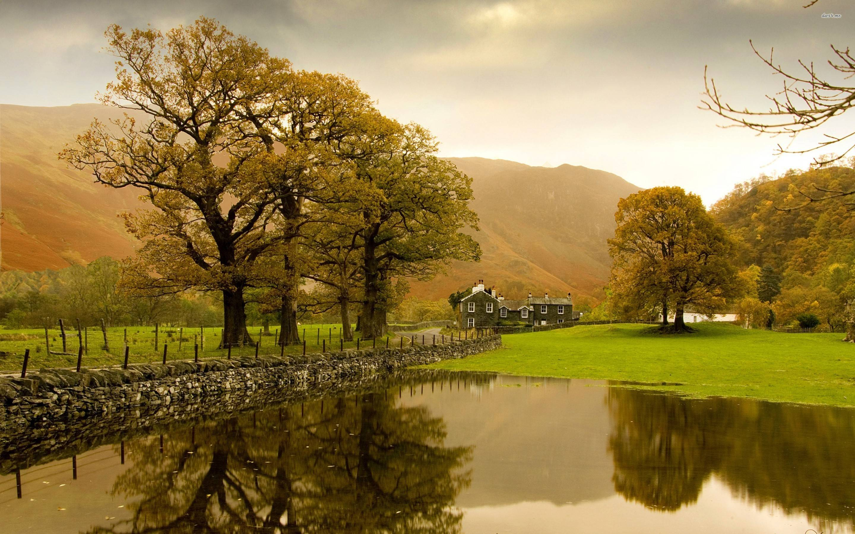 English Countryside Wallpapers 2880x1800