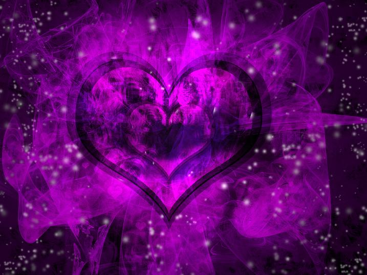 Beautiful purple heart wallpaper purple heart wallpaper purple 717x538