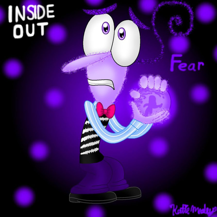 Inside Out Fanart Contest Art   Fear by InsideOutGirlKatie on 894x894