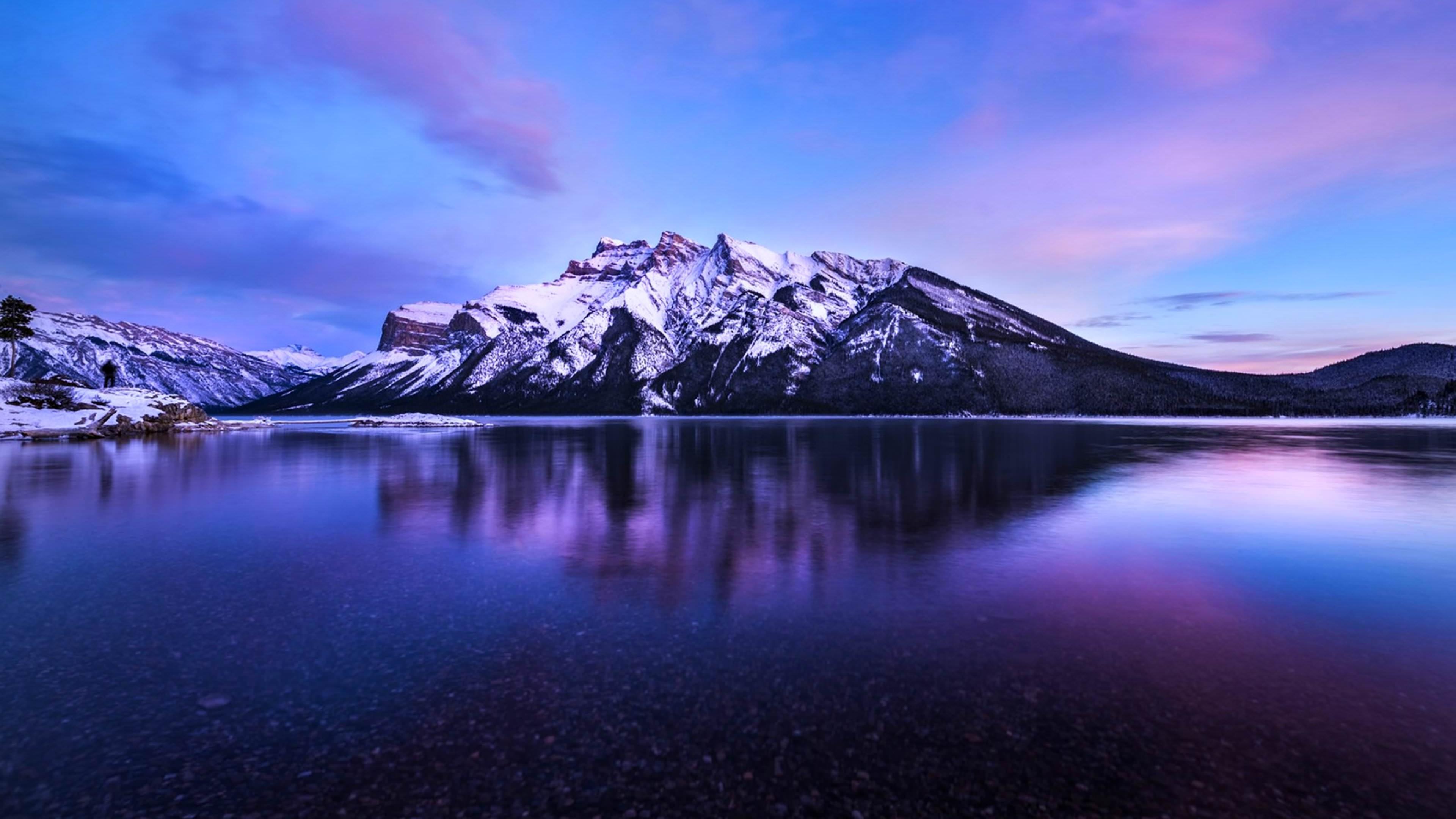 Banff National Park HD wallpaper for 4K 3840 x 2160   HDwallpapersnet 3840x2160