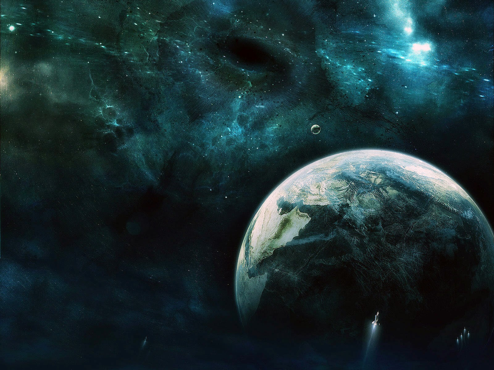 cool outer space wallpapers of space jpg earth outer space 1600x1200
