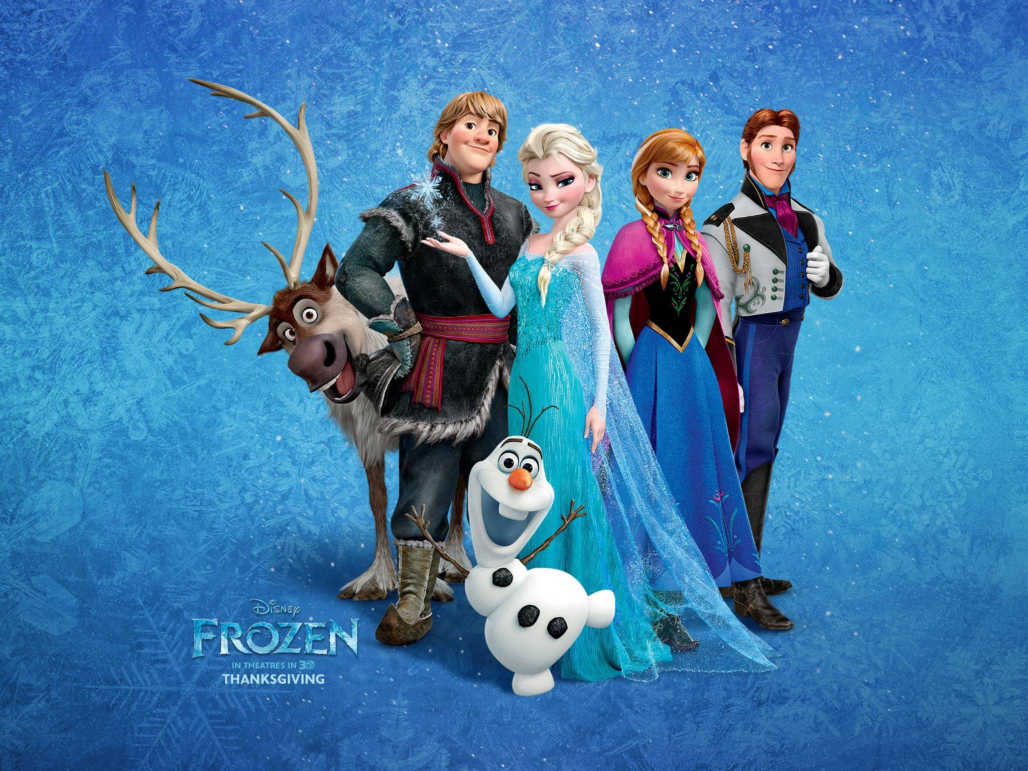 Frozen Wallpaper Wallpaper for Frozen Frozen is a 2013 2048x1536