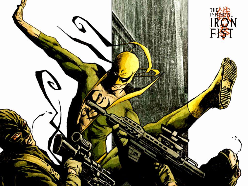 Iron Fist Action Wallpaper 1024x768