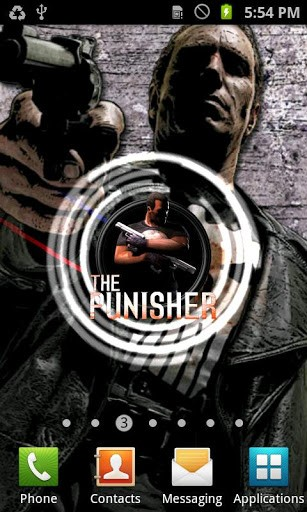 Punisher Free Live Wallpaper App for Android