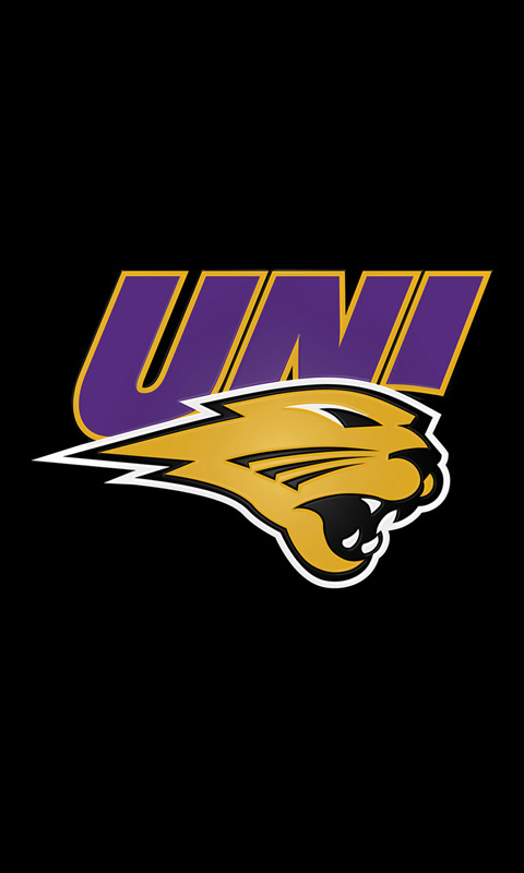 University of Northern Iowa Panthers Logo Backgrounds for iPhone 480x800
