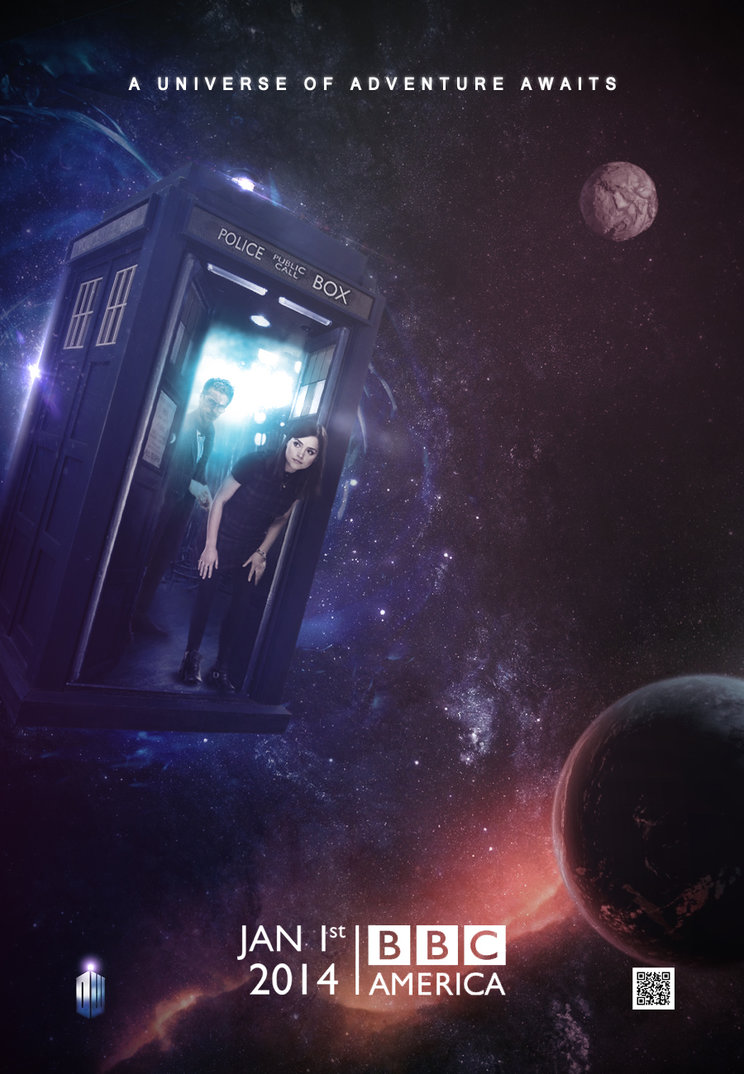 Doctor Who Series 8 Teaser Poster by SkinnyGlasses 744x1074
