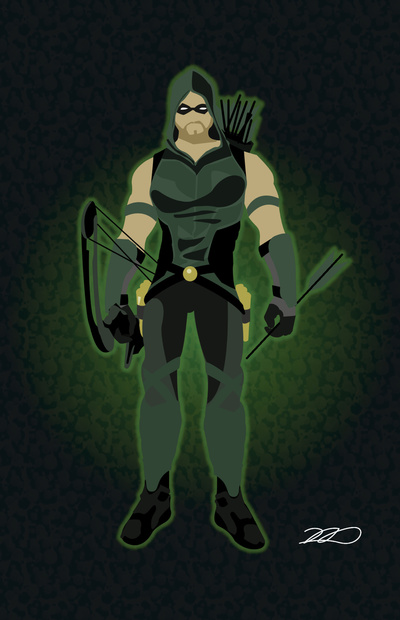 Arrow Cw Iphone Wallpaper Green arrow art print 400x620