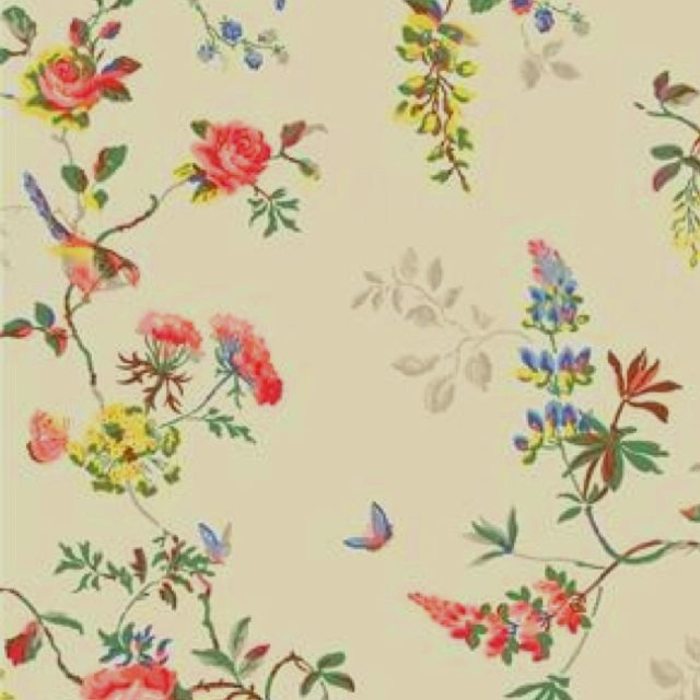 Bird and Roses wallpaper by Cath Kidston My bedroom redecorating id 640x640
