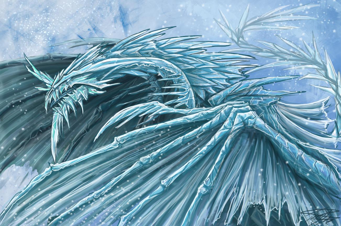 These dragons can be either white very lite blue dark bluedark 1302x864