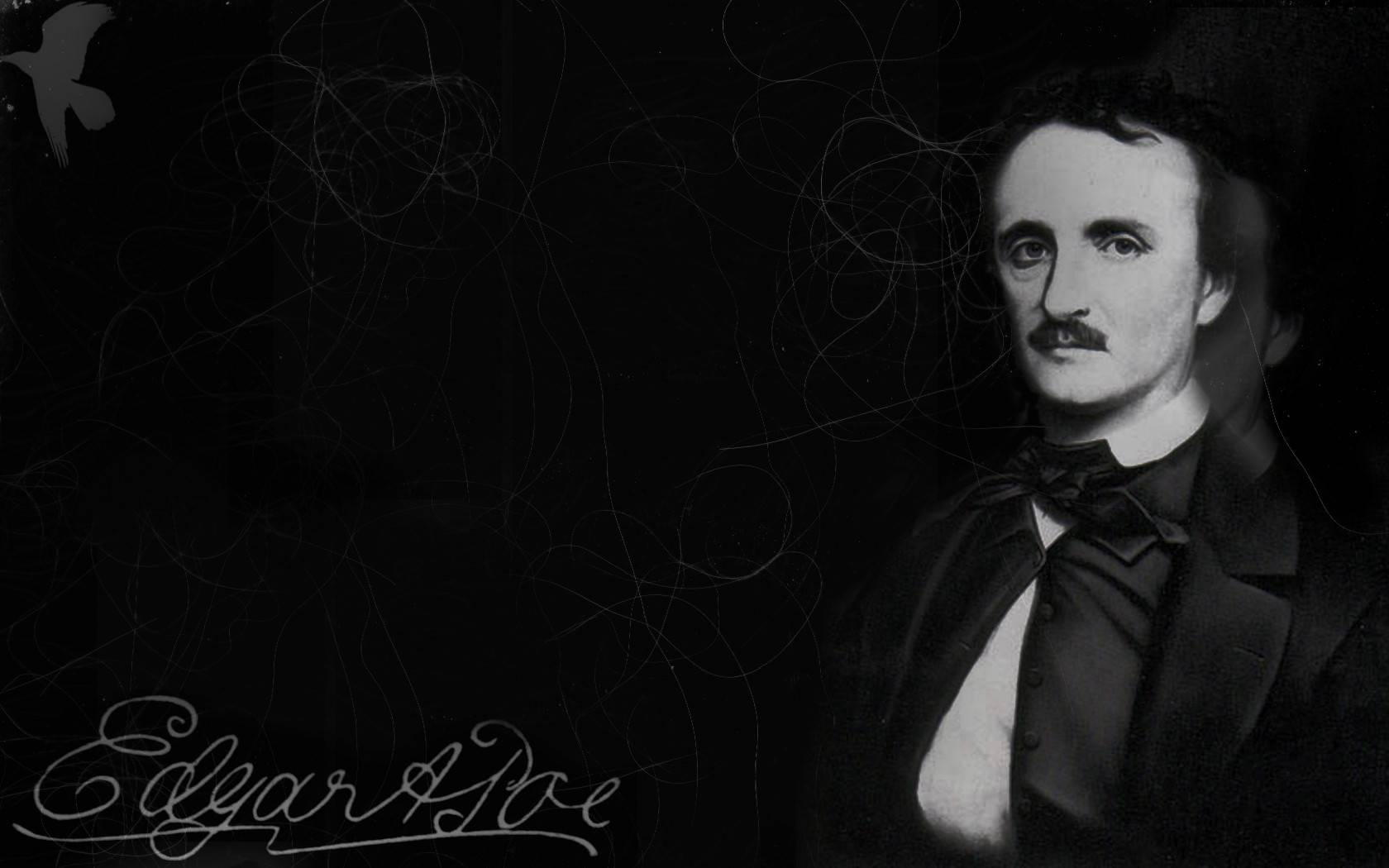 Edgar Allan Poe Wallpaper 3 Wallpaper for Edgar Allan Poe Edgar 1680x1050