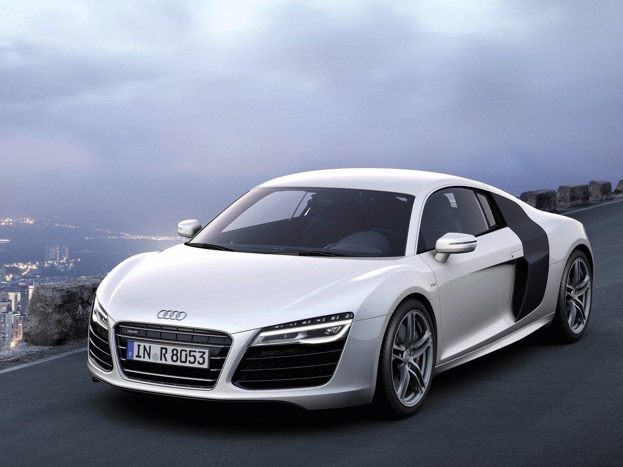2013 Audi R8 V10 Silver Wallpapers ImageBankbiz 1280x960