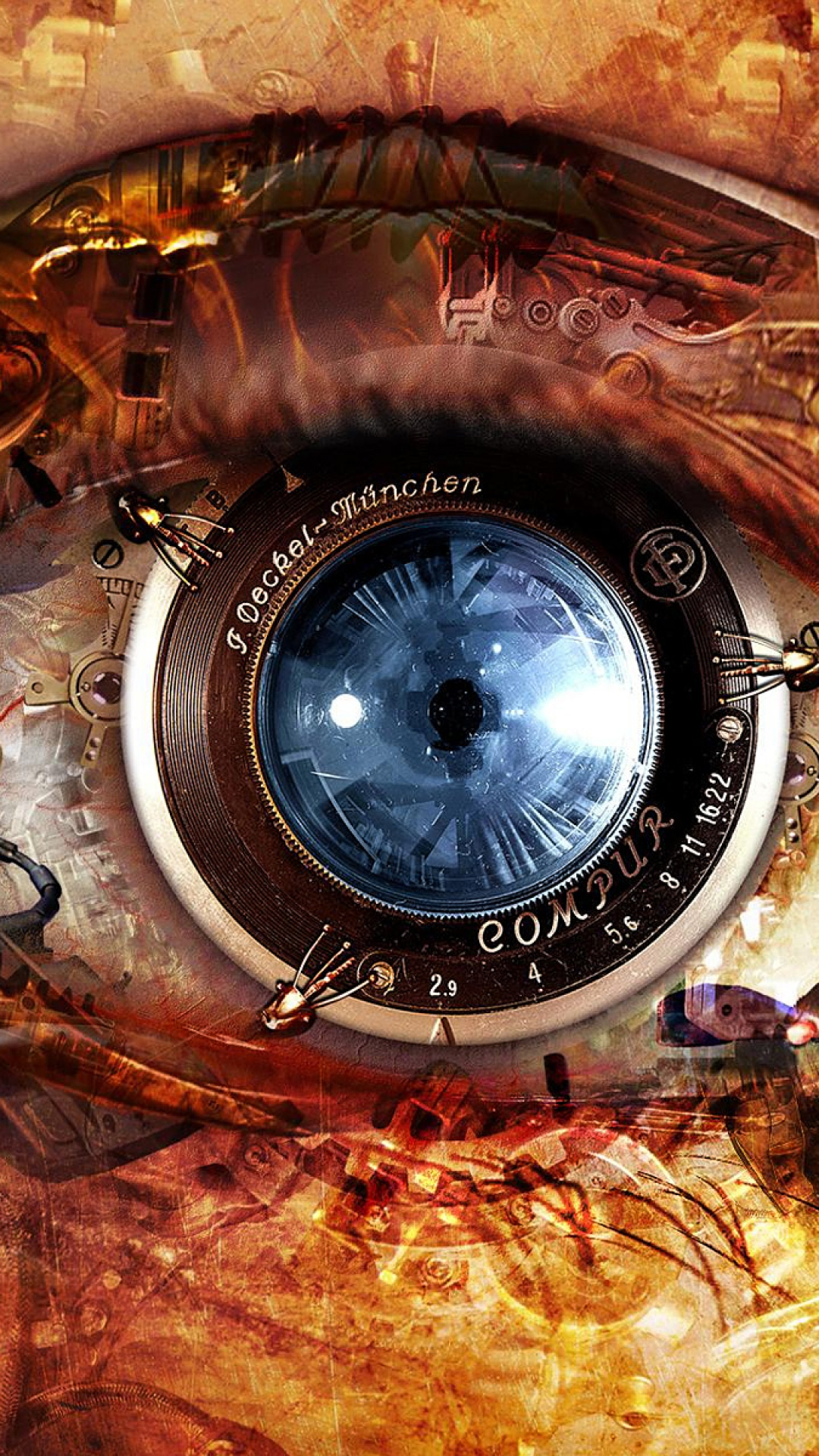 Eye Steampunk iPhone 6 Wallpaper Download iPhone Wallpapers 1080x1920