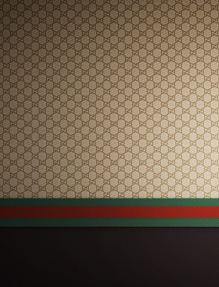 Gucci Brown Red Green Wallpaper for iPhone 5 450x590