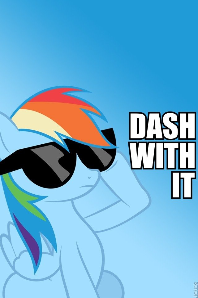 rainbow dash iphone wallpaper - photo #15