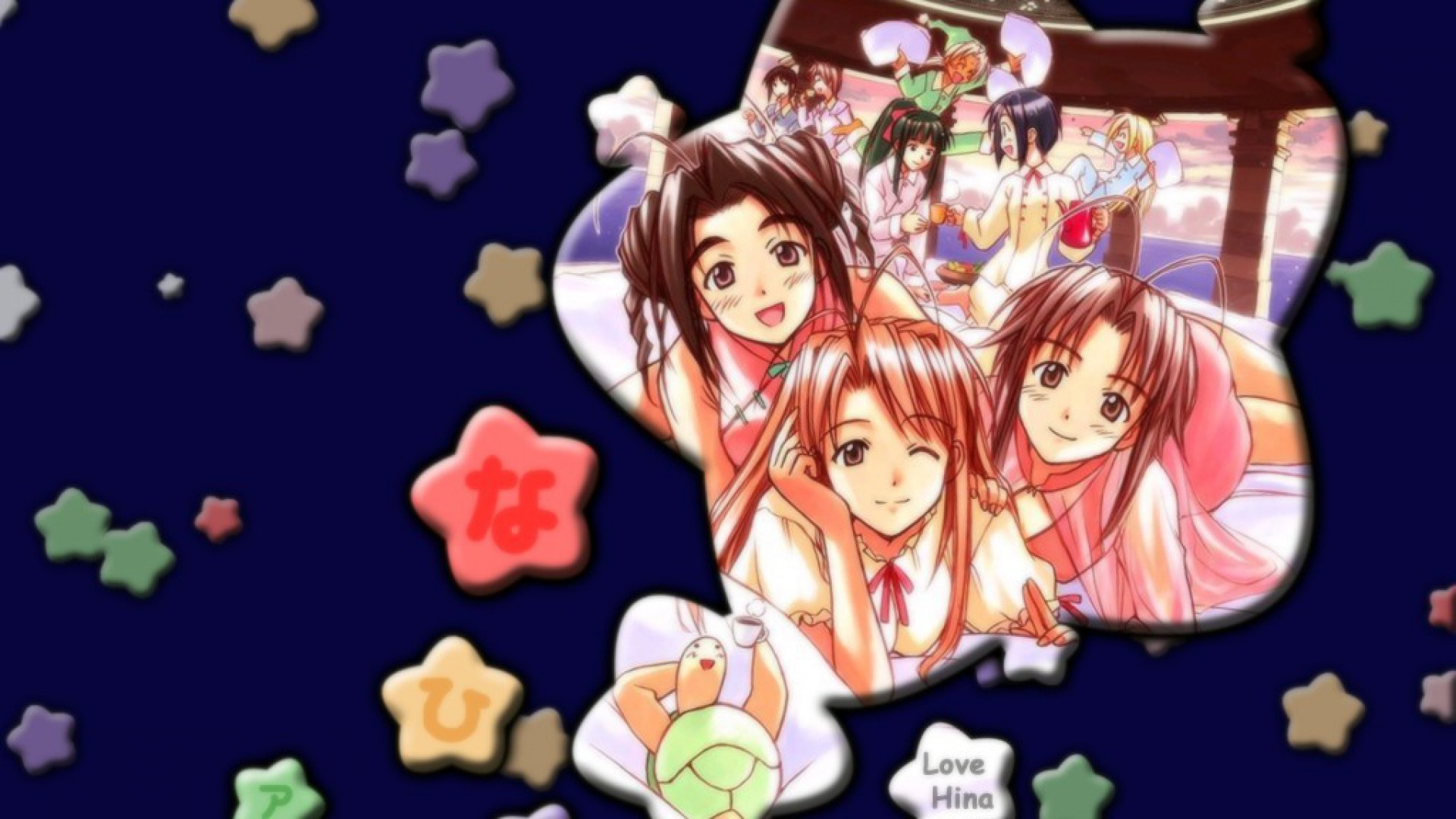 Free Download Love Hina Wallpapers 1920x1080 For Your