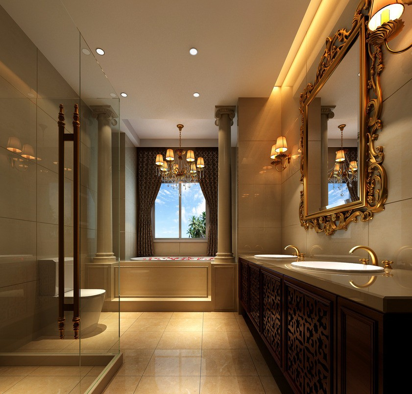 Free Download Luxury Bathroom Interior Design Neoclassical 3d House 3d House 841x804 For Your Desktop Mobile Tablet Explore 41 Luxury Bathroom Wallpaper Bathroom Wallpaper Designs Luxurious Wallpaper For Homes