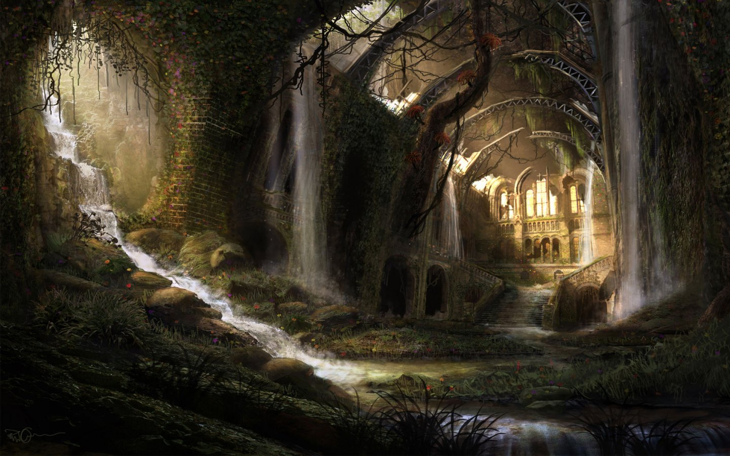 Medieval Dark Fantasy   HD Wallpapers Widescreen   1440x900 1440x900