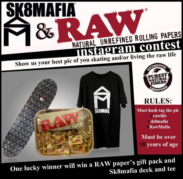 Sk8mafia x Raw Papers Insta Contest Transworld Skateboarding 600x585