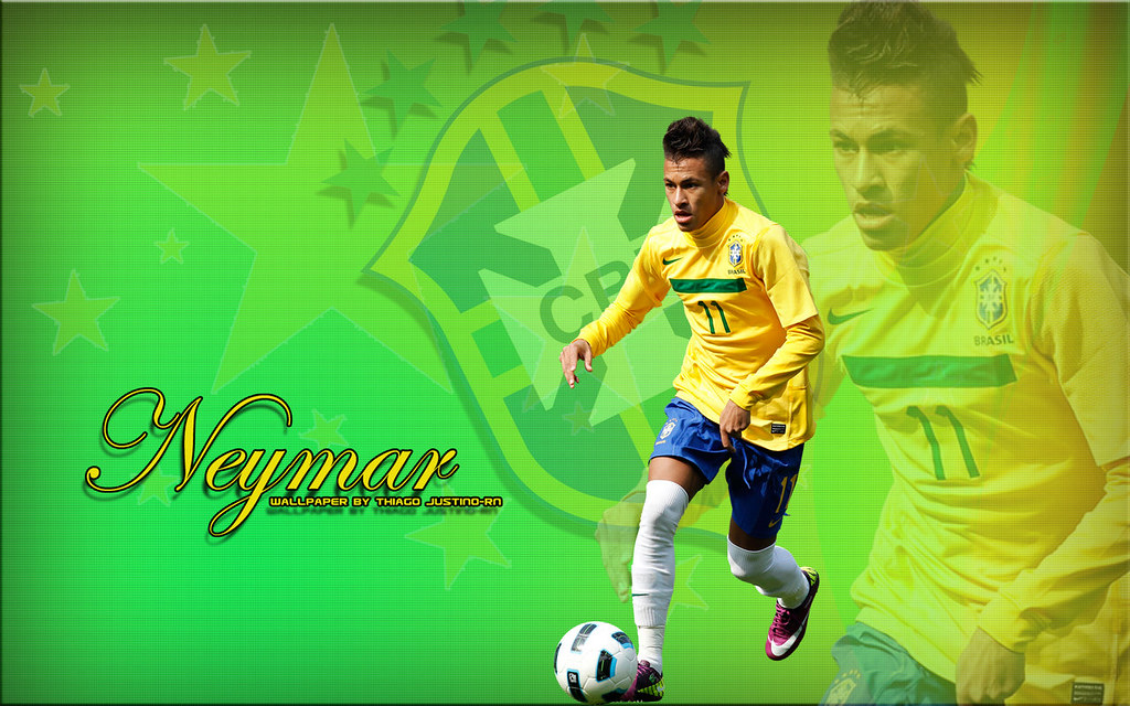 neymar wallpaper 2 Polliana Barros Flickr 1024x640