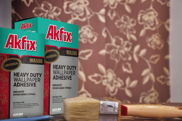 Akfix WA500 Heavy Duty Wallpaper Adhesive Easy to apply Thanks to 700x465