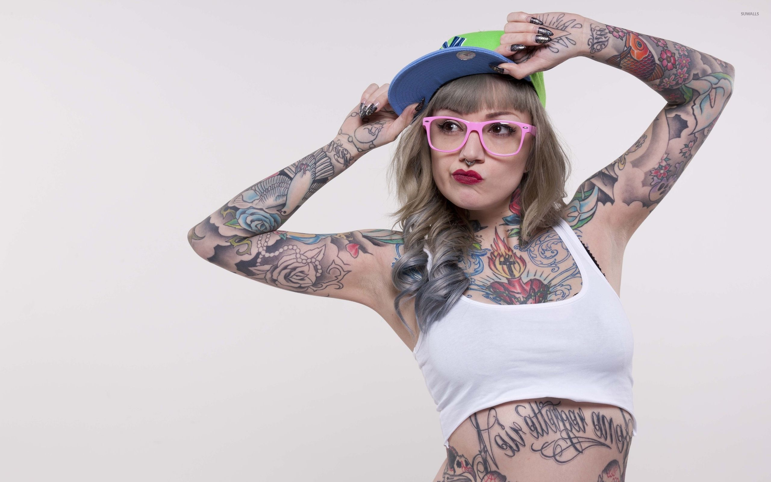 Tattooed girl wallpaper   Girl wallpapers   32679 2560x1600
