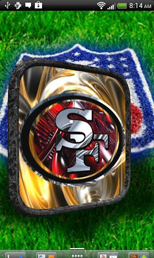 49ers 3D LWP App for Android 307x512