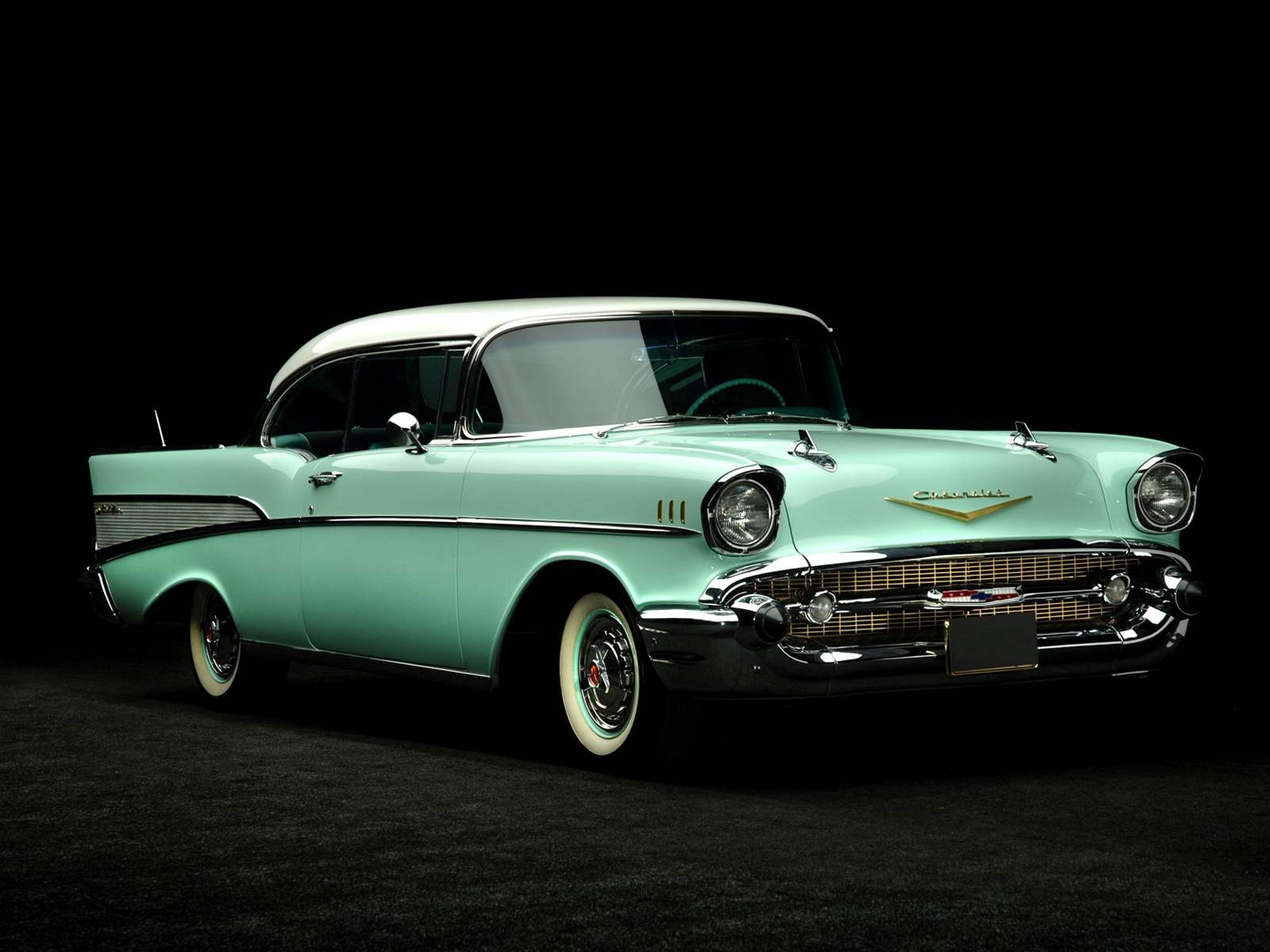 Chevrolet Wallpapers Chevrolet Bel Air Sport Coupe 1957 Walpapers 1600x1200