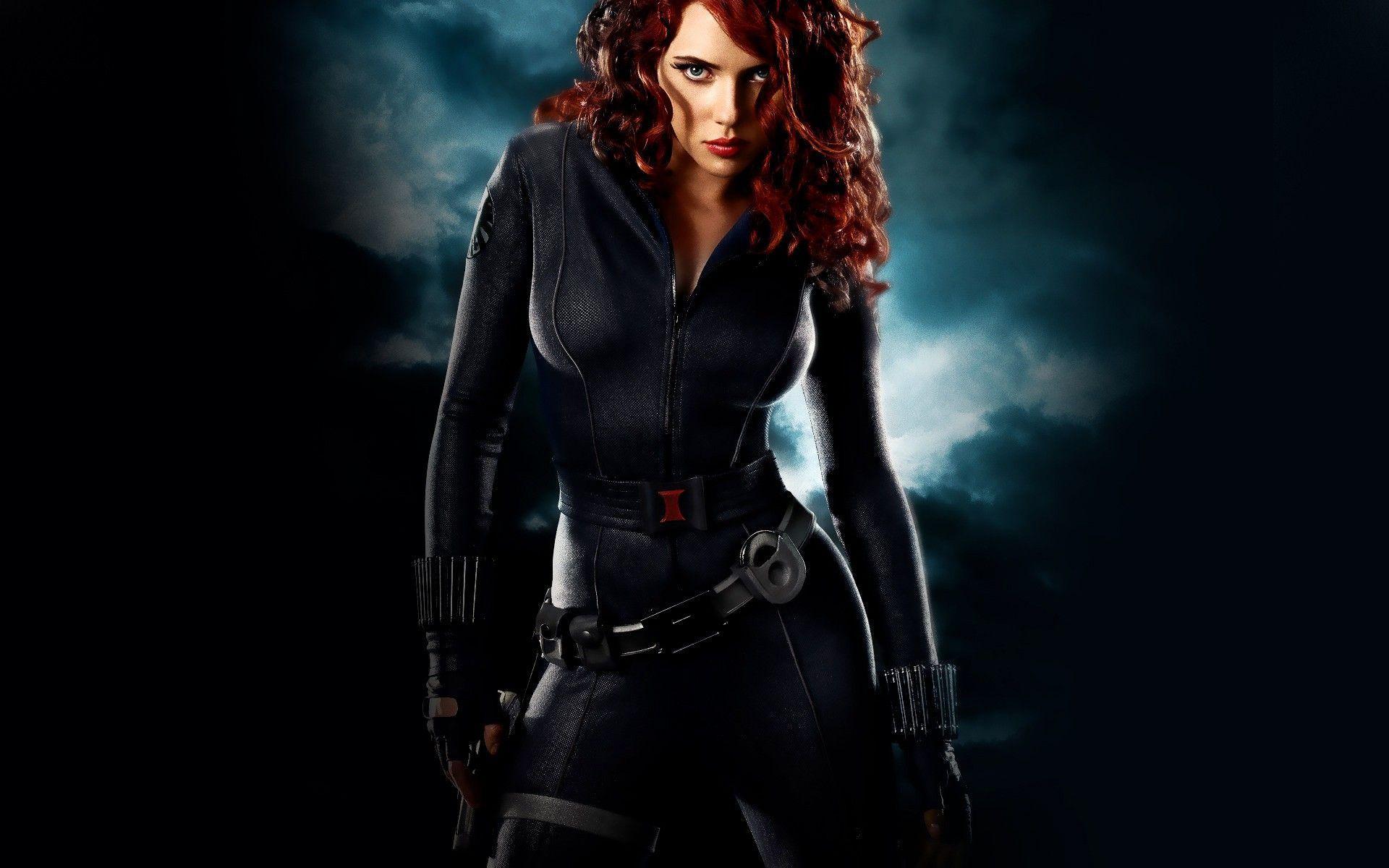 Scarlett Johansson Black Widow Wallpapers 1920x1200