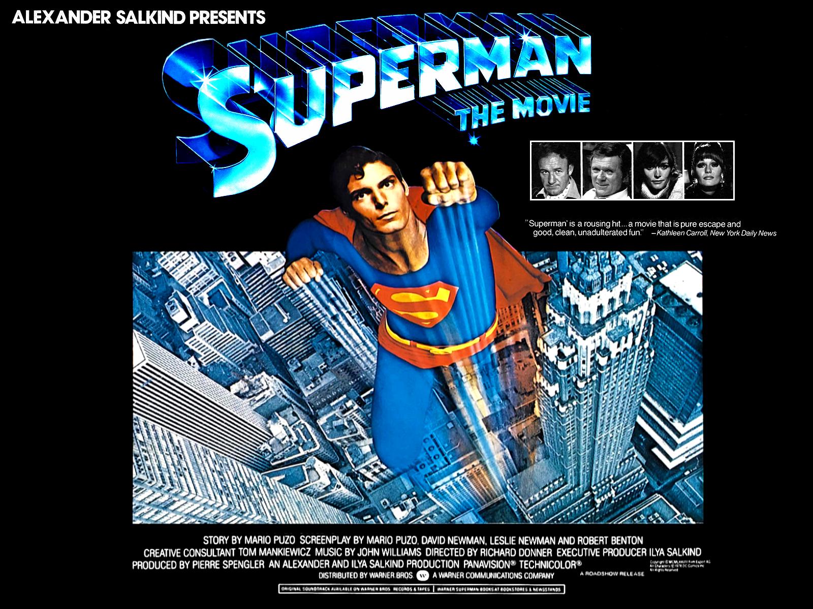 1600x1200 Superman the Movie desktop PC and Mac wallpaper 1600x1200