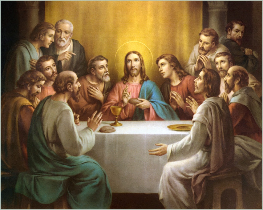 The last supper of Jesus Christ wallpaper   ForWallpapercom 854x682