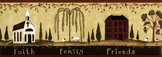 country primitive kitchen border Quotes 525x186