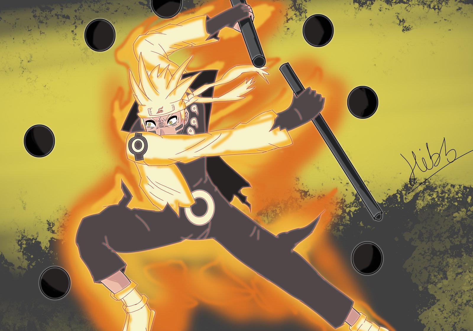 Free Download Naruto Uzumaki Sage Of The Six Paths Mode By
