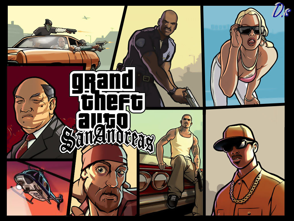 Grand Theft Auto San Andreas Hd Wallpapers HD Wallpaper GamesHD 1024x768