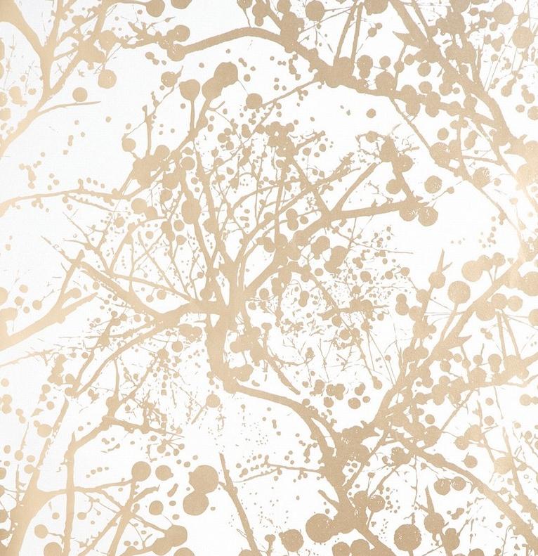 [44+] White and Gold Wallpaper on WallpaperSafari