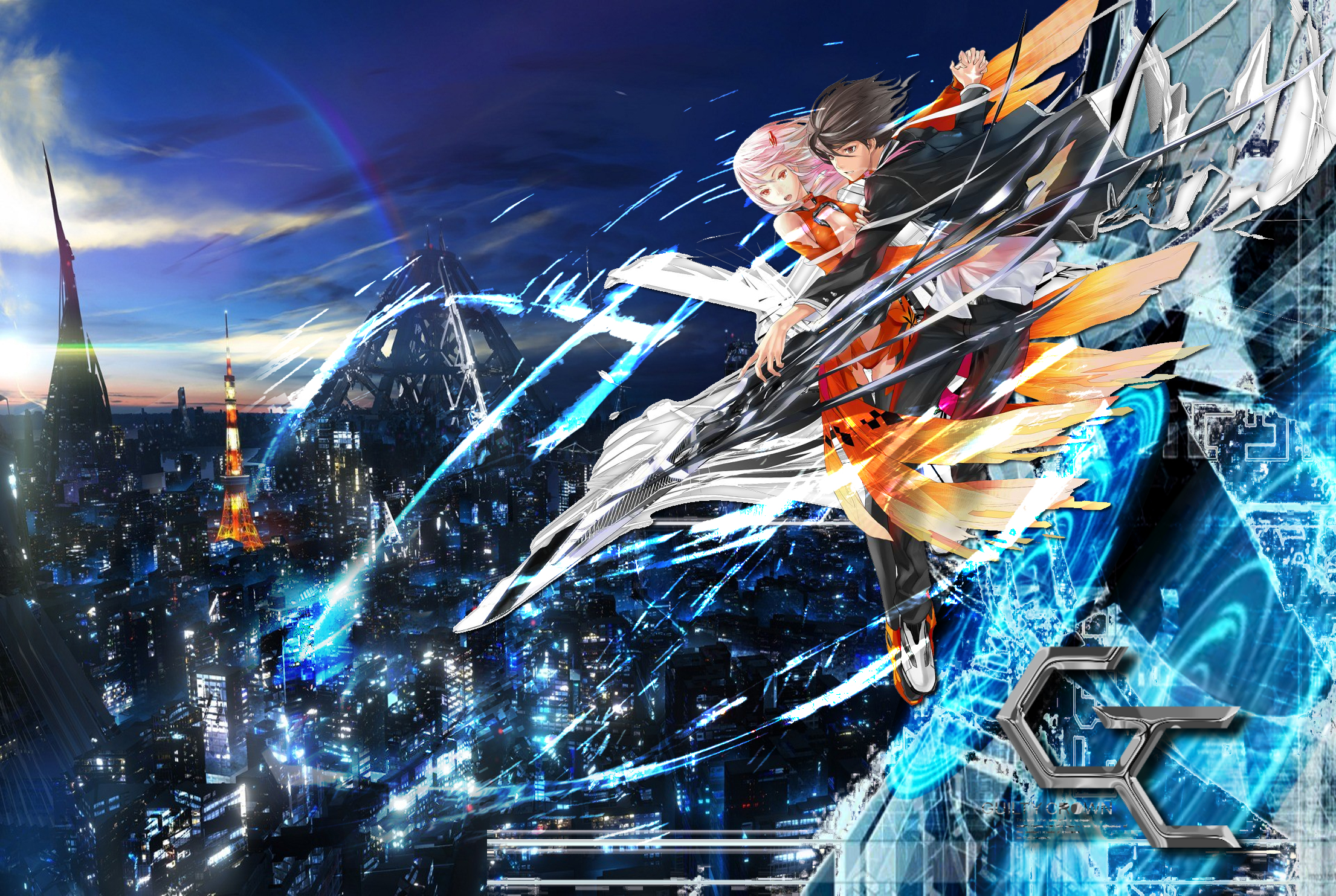 300 Guilty Crown HD Wallpapers Background Images 2211x1483