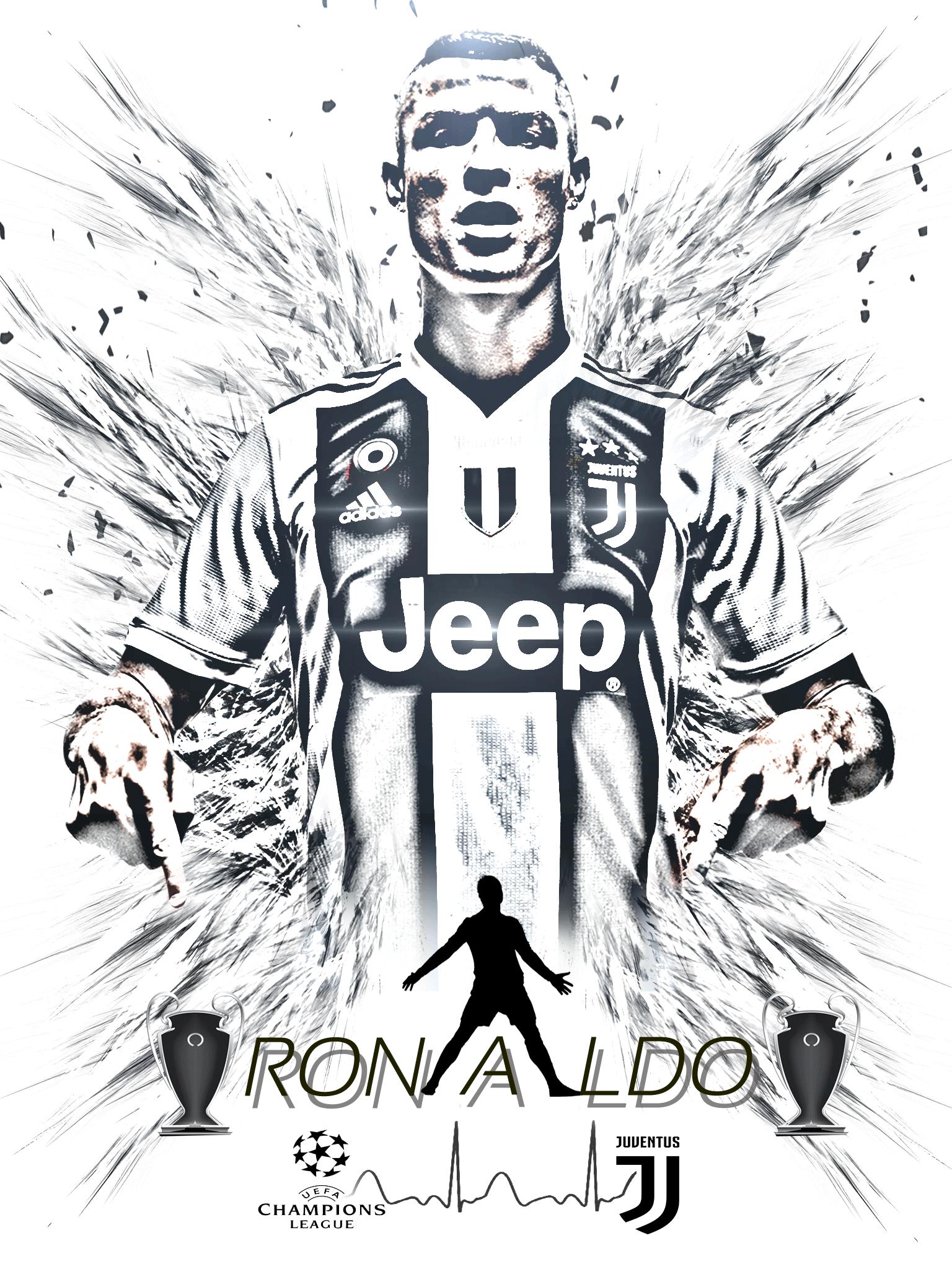 Wallpaper Ronaldo Juventus 2019 1536x2048