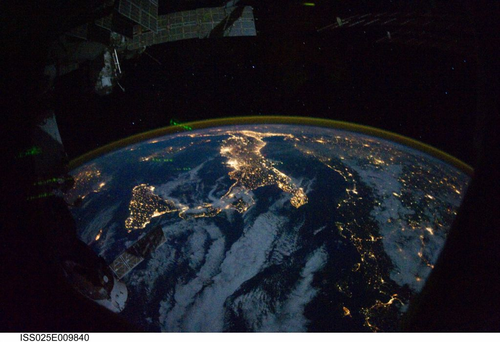 Esa europe space Night Lights wallpaper 4256x2913 312997 1023x700