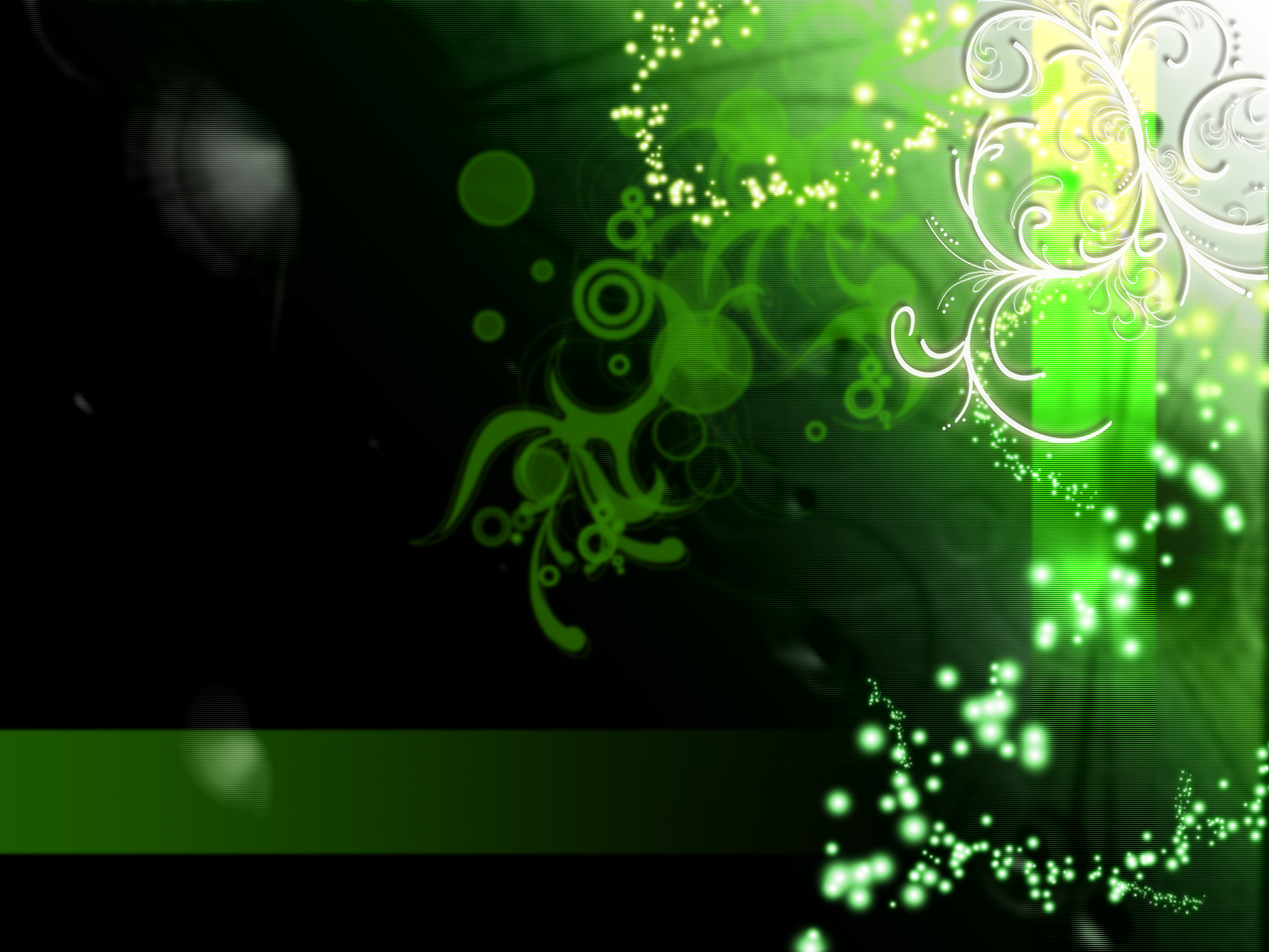 SoMetHinG NeW Green Flower Wallpaper 1280x960