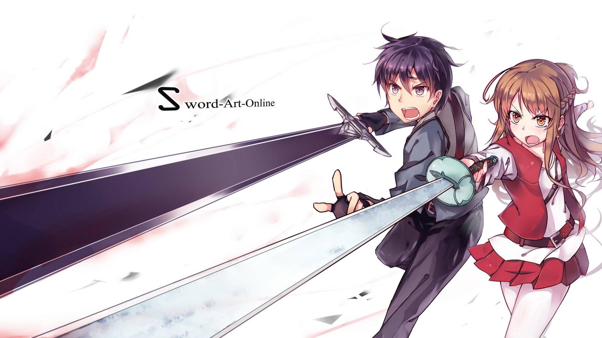 Kirito and Asuna   Sword Art Online Wallpaper 1920x1080